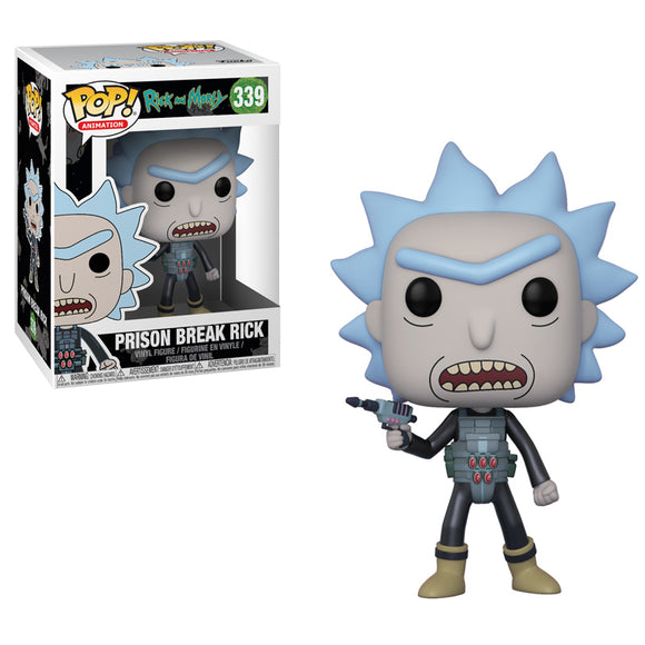 Prison Break Rick Funko Pop #339 Rick and Morty