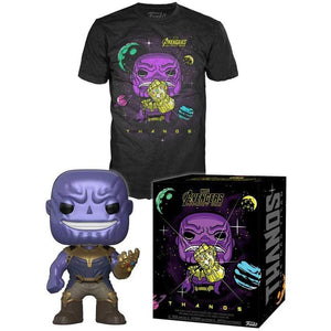 Thanos Funko Pop and T Shirt Set