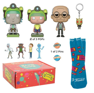Rick and Morty Arcade Kit  Funko Box Blipz and Chitz