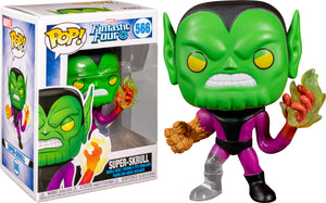 Super Skrull Fantastic Four Funko pop