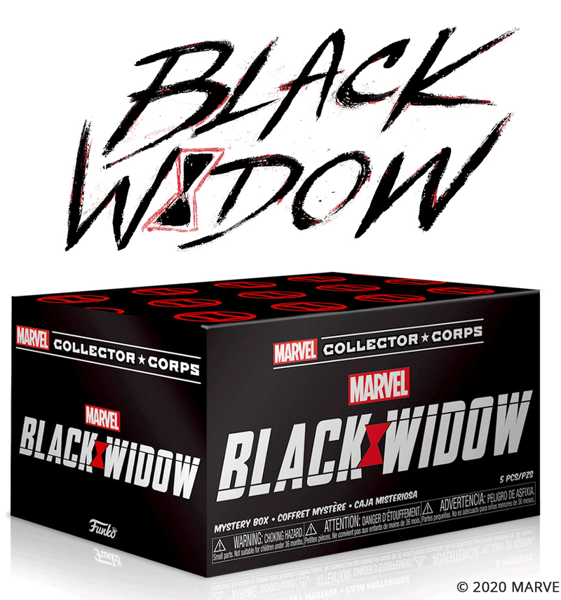 Marvel Black Widow Collector Corps Funko Pop Box exclusive