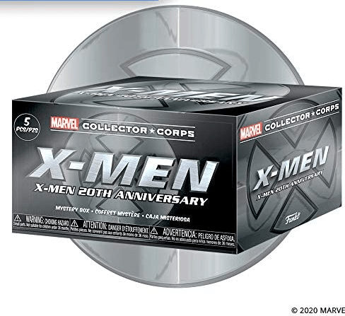 X Men collector corps box 20th anniversary edition