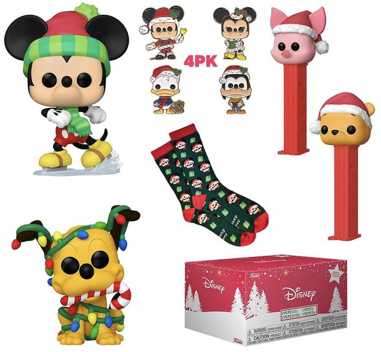 Disney Holiday Funko Pop collector Box Exclusive
