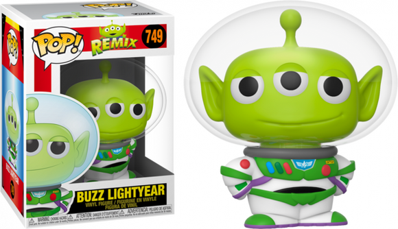 Alien Remix Buzz Lightyear Funko Pop pixar