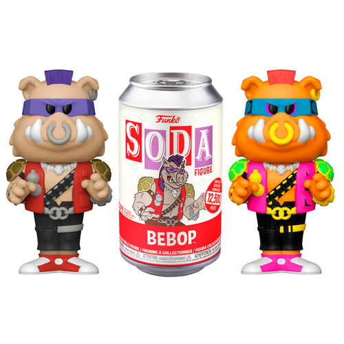 Be Bop From Teenage Mutant Ninja Turtles Funko Soda Figure
