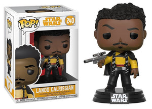 Star Wars lando Calrissian Funko Pop