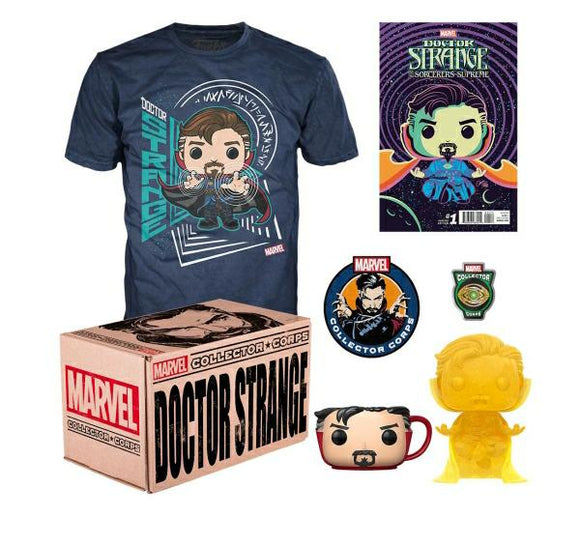 Dr Strange Collector Corps Funko Pop Box