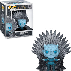 Night King on Throne 6 Inch Game of Thrones Funko pop
