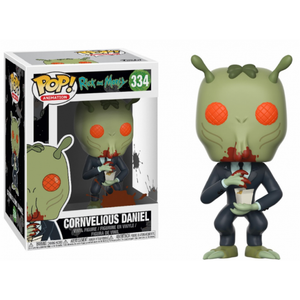 Cornvelious Daniel From Rick and Morty Funko Pop