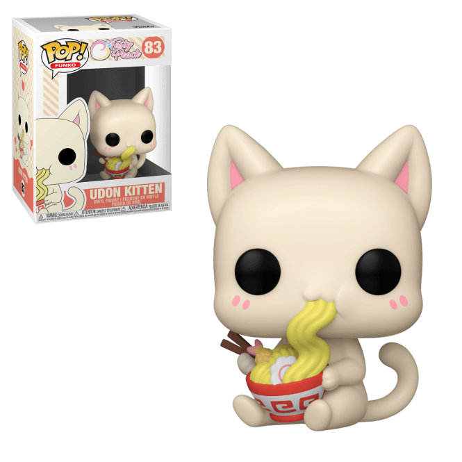 Tasty Peach Udon Kitten Funko Pop