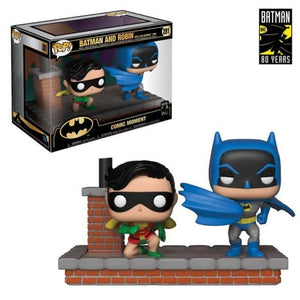 Batman And Robin Comic Moments Funko Pop