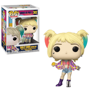 Birds Of Prey Funko Pop Harley Quinn Caution tape
