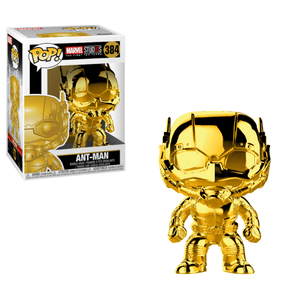 Ant Man Gold Chrome Funko Pop