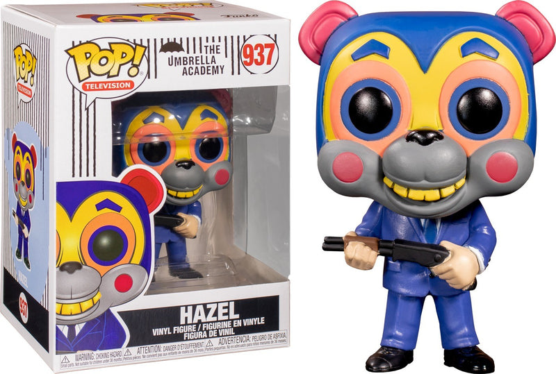 Hazel Umbrella Academy Funko Pop no 937