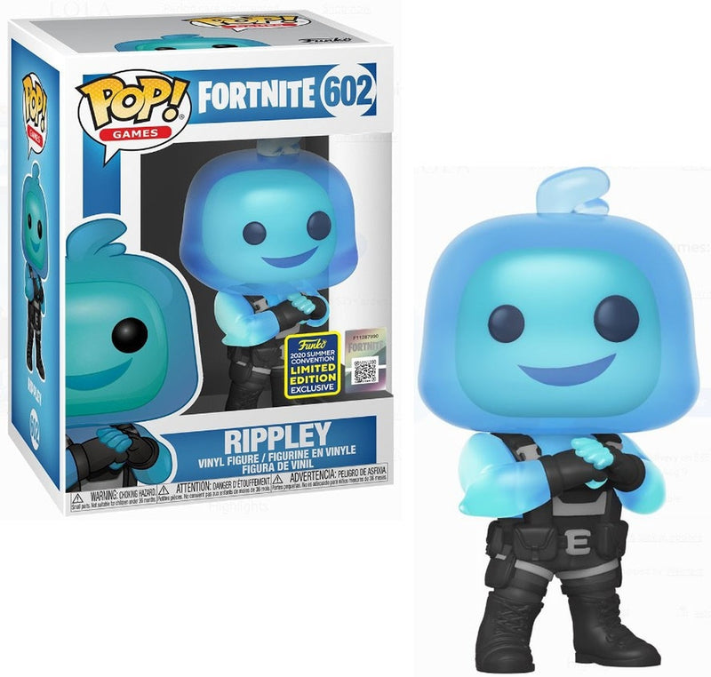 Fortnite Rippley Funko pop convention exclusive