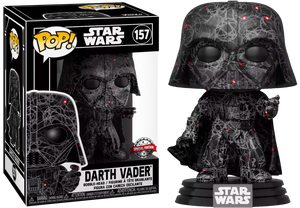 Darth Vader Futura Exclusive Funko Pop