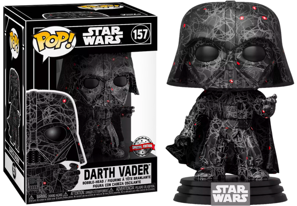 Darth Vader Futura Exclusive Funko In Hard Stack Case