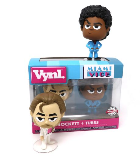Miami Vice Crockett and Tubbs Funko VYNL Figure Set Special Edition