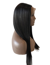 Natural Straight Glueless Front Lace Wig