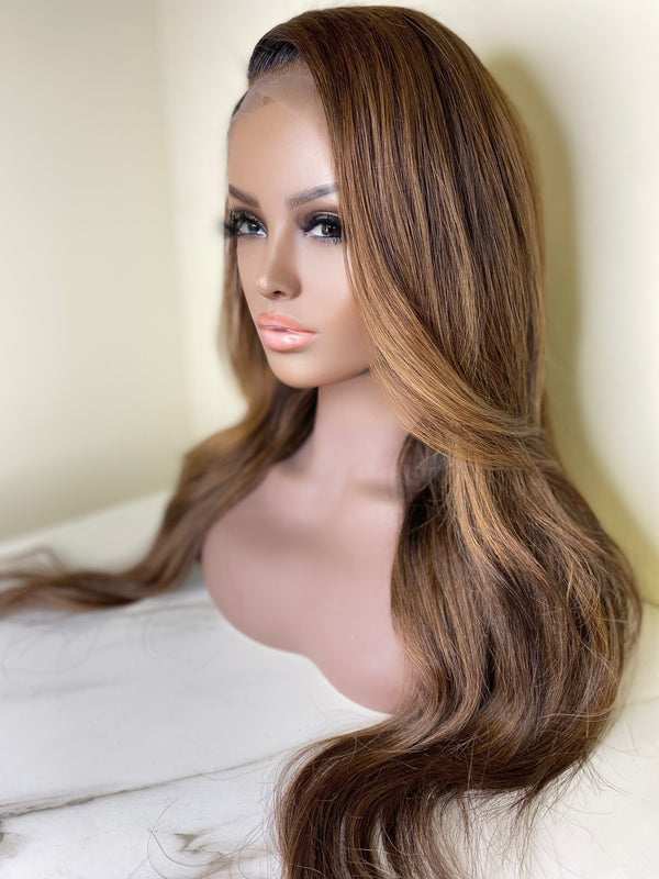 """Camille"" Glueless Front Lace Wig"