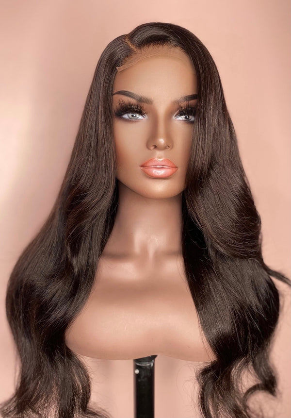 """Jennifer"" Glueless Lace Closure Wig"