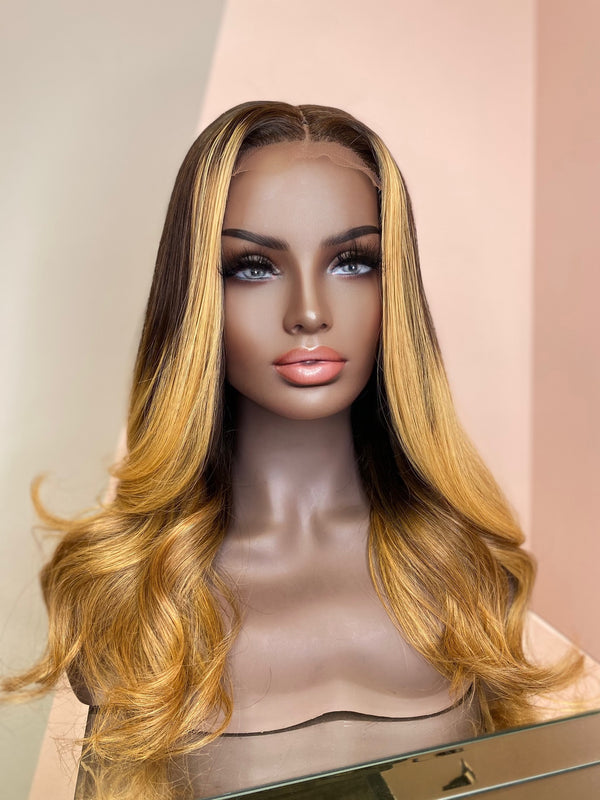 """Mya"" Glueless Lace Closure Wig"