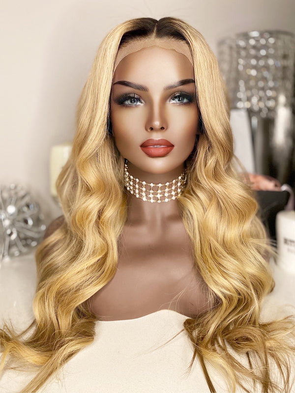 """Chanel"" Glueless Front Lace Wig"