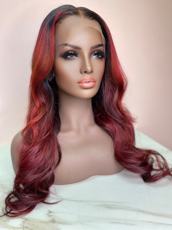 """London"" Glueless Front Lace Wig"