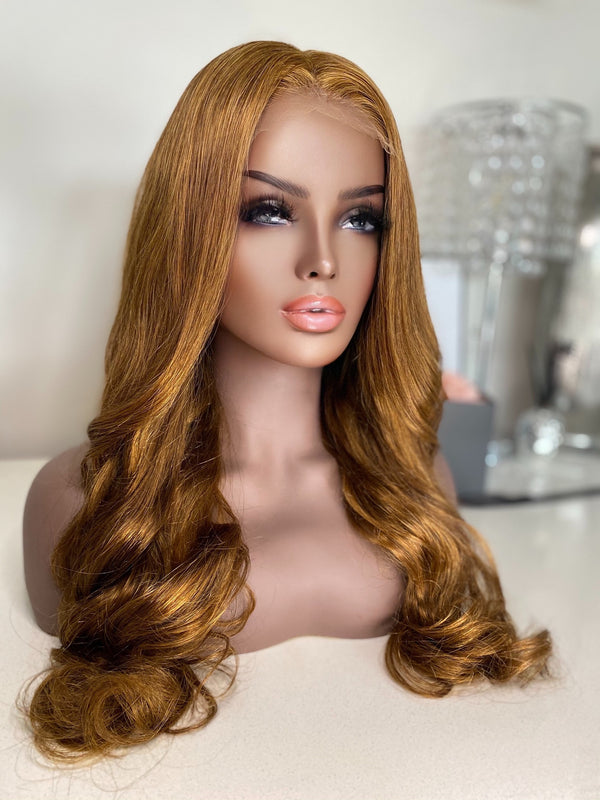 """Megan"" Glueless HD Lace Closure Wig"
