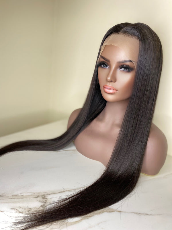 """Dreka"" Glueless Front Lace Wig"