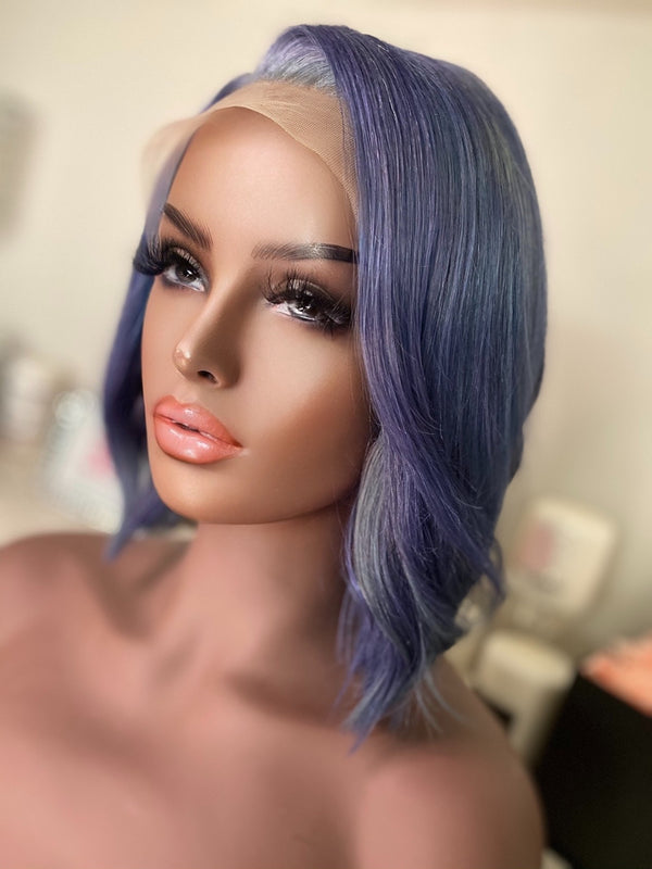 """Winter"" Glueless Front Lace Wig"