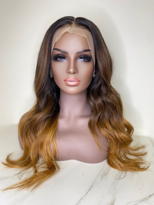 """Danielle"" Glueless Front Lace Wig"