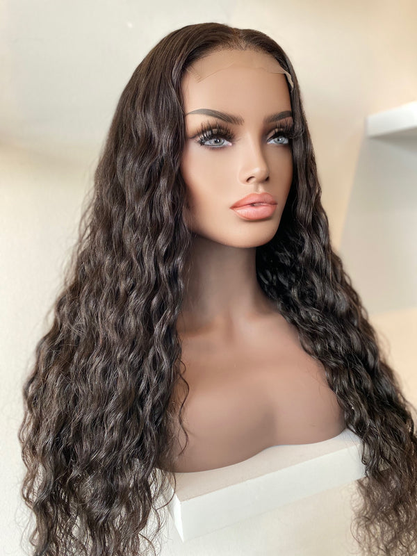 """India"" Glueless Lace Closure Wig"