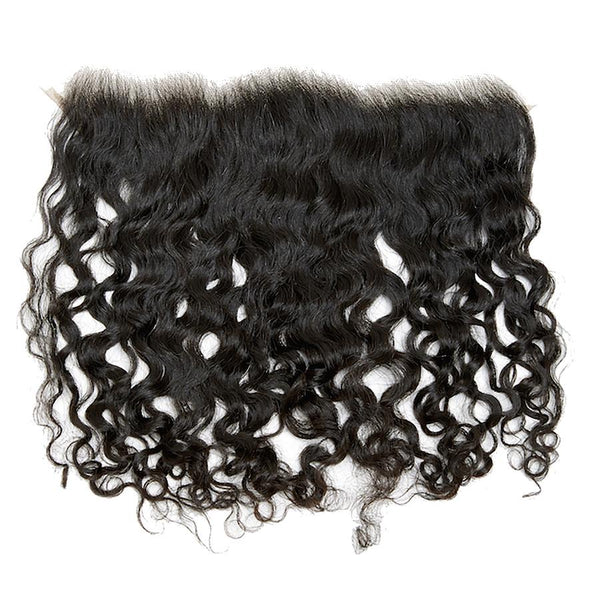 Pure Natural Curly Lace Frontal Closure (13x4)