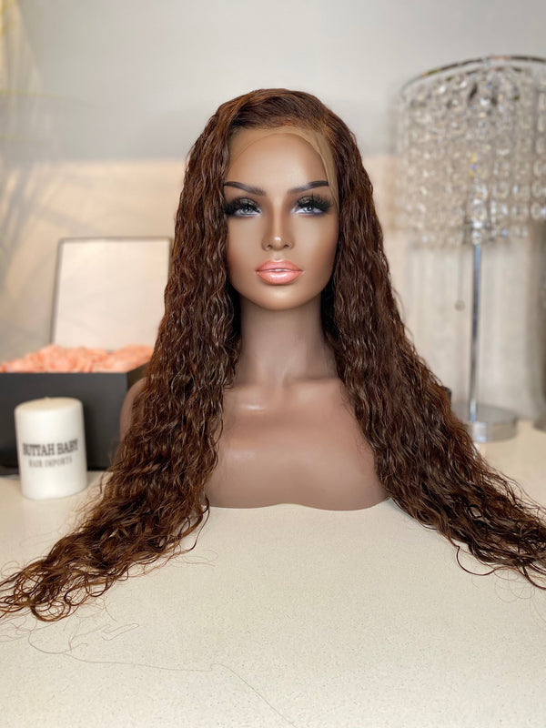 """Yana"" Glueless Front Lace Wig"