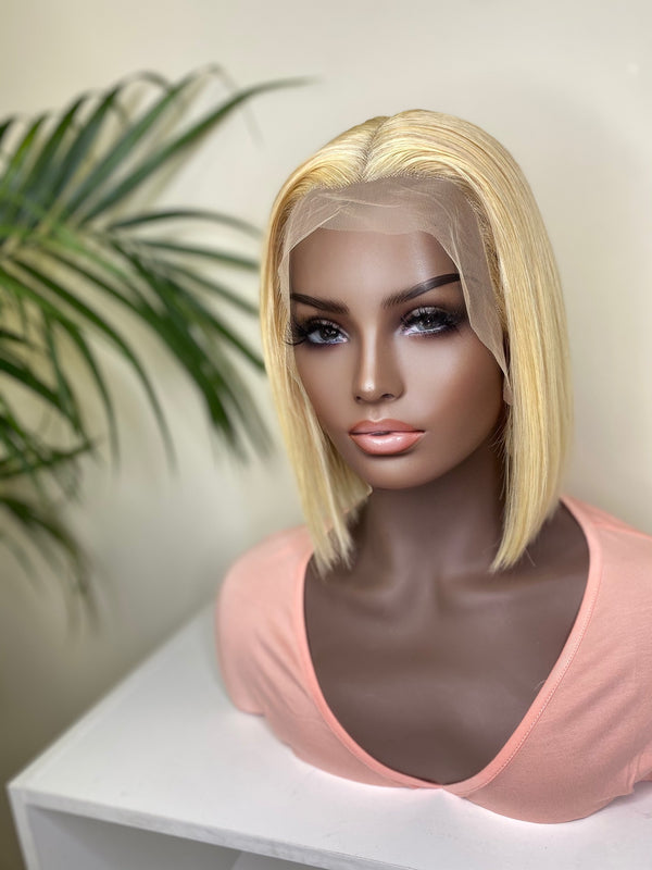 """Paige"" Glueless Front Lace Wig"