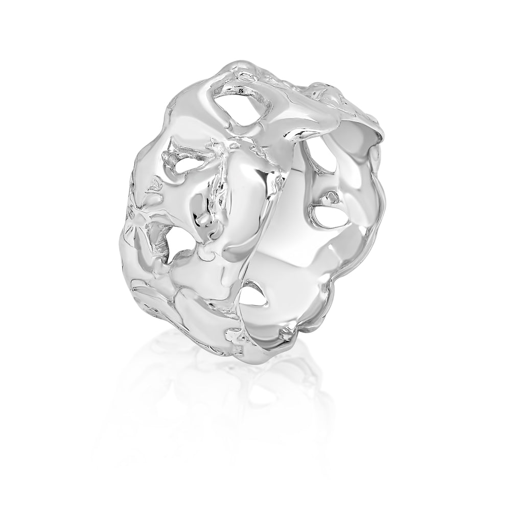 Release Sterling Silver Ring
