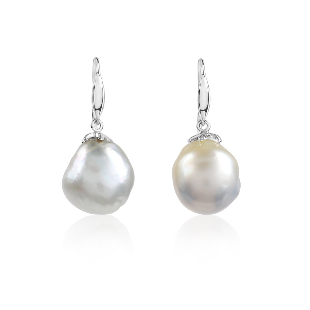 Load image into Gallery viewer, South Sea Pearl Earrings