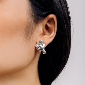 Load image into Gallery viewer, Sterling Silver Forgive Earrings