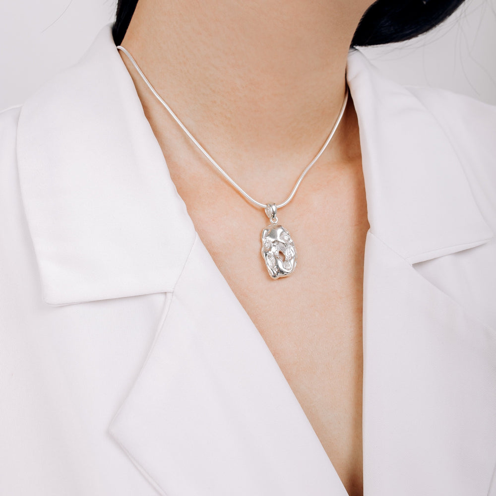 Perfectly Imperfect Collection Strength Necklace