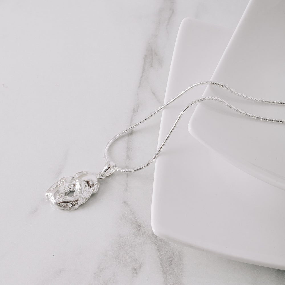 Load image into Gallery viewer, Perfectly Imperfect Collection Strength Necklace