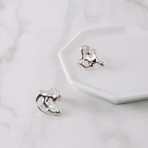 Stunning Sterling Silver Forgive Earrings