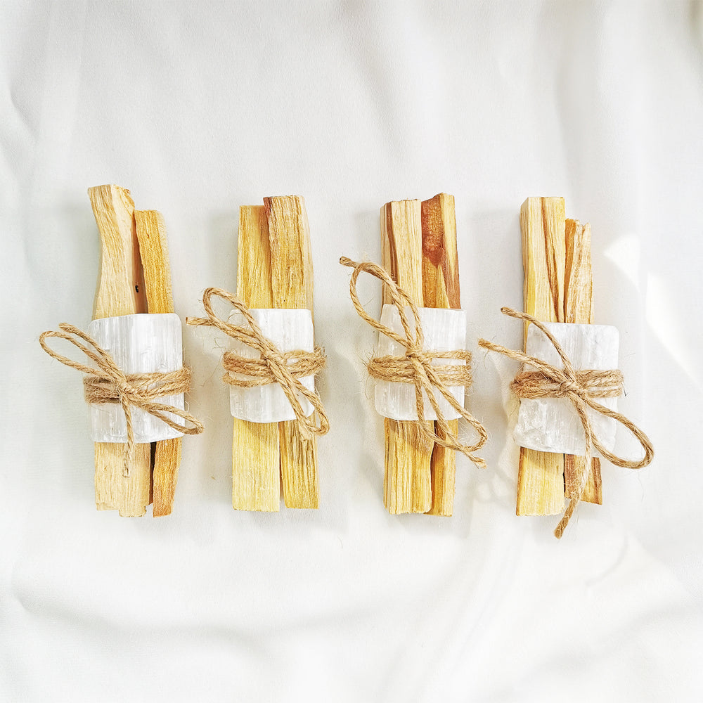 palo santo selenite cleansing kit