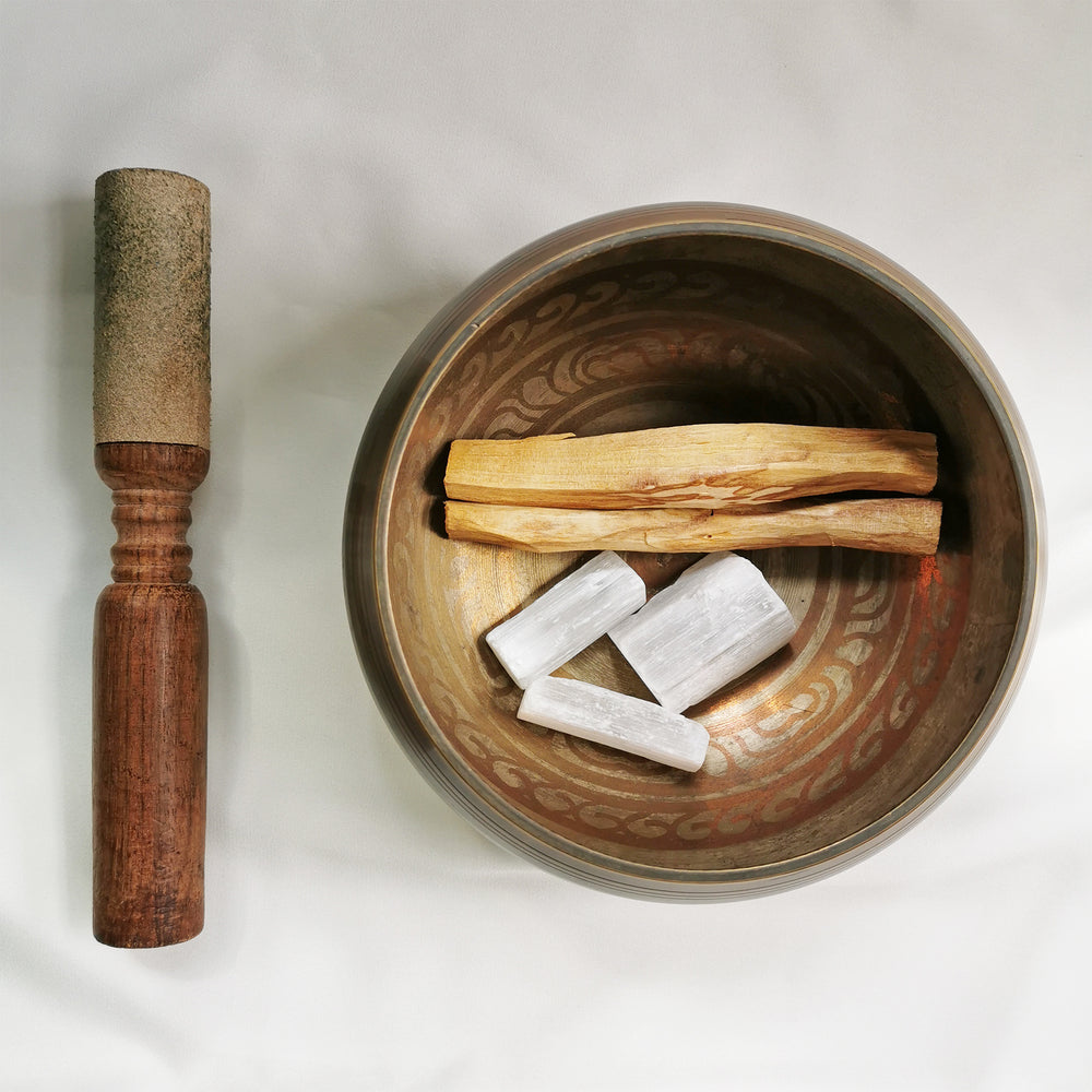 palo santo selenite energy clearing kit