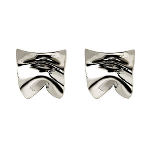 Load image into Gallery viewer, Divine Sterling Silver Stud Earrings