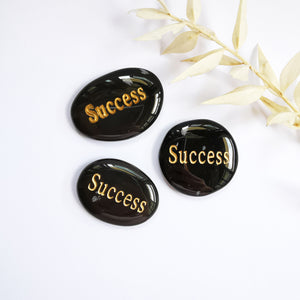 Success Engraved Wording on Crystal