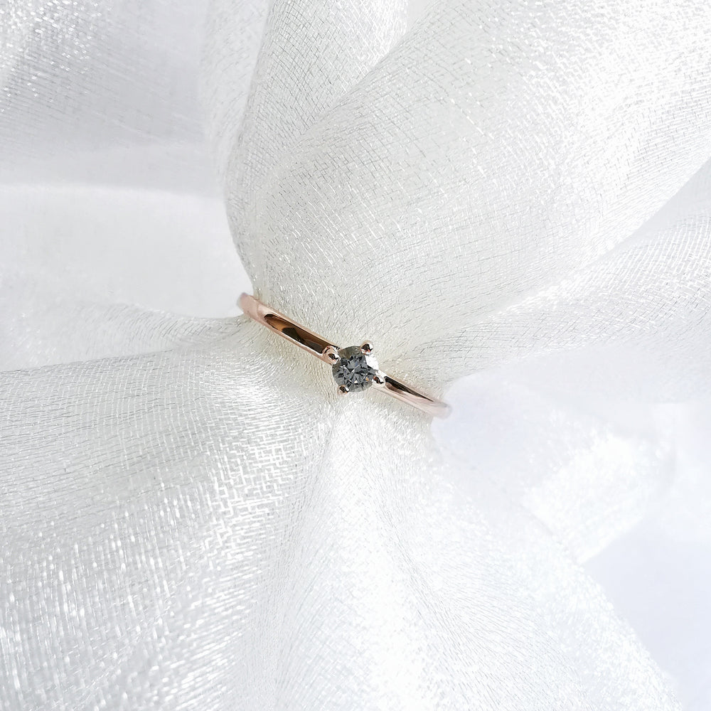 Load image into Gallery viewer, Karen White Topaz Petite Ring