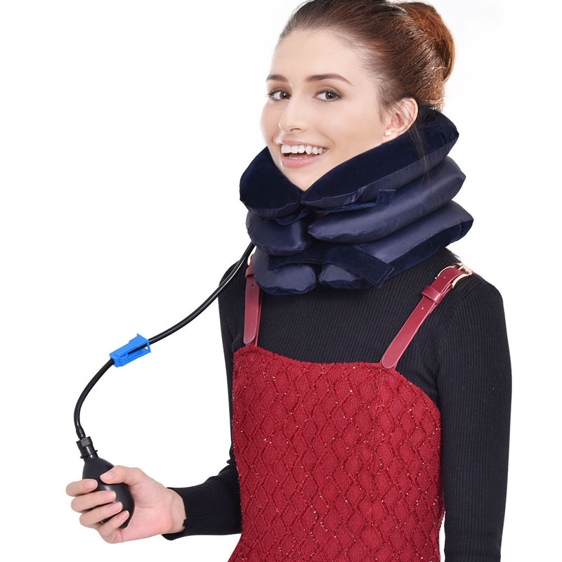 Neck Tractor Inflatable Air-Support Device - JumieGee