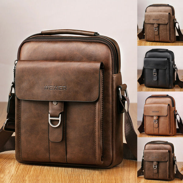 Men's Genuine Leather Bag - JumieGee
