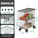 Home Kitchen Movable Storage Rack with wheels - JumieGee